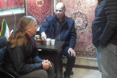 Einladung zum Tee beim Teppichhändler (Sabine Holzer)