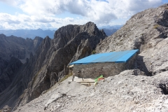 Sanierung der Linderhütte im Sommer-Herbst 2019