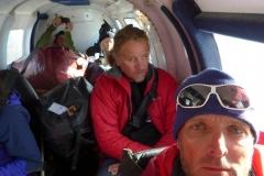 Flug von Lukla zurueck nach Kathmandu (Foto: Wolfgang Klocker)