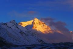 Mt. Everest - unser Traumziel bis zum Tag als das Beben kam (Foto: Florian Brunner)