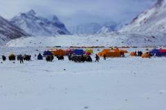Morgenstimmung am Fuße des Mt. Everest (Foto: Wolfgang Klocker)