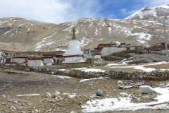 Rongpuk Monastery Kloster unterhalb des Basislager (Foto: Wolfgang Klocker)