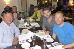 Abendessen mit Dawa Steven und seinem Vater Angcing Sherpa