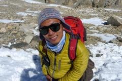 Tenzing, mein Sherpa, ist begeistert von uns Vieren (Foto: Klemens Bichler)