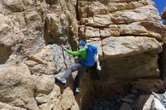 Klemens kann das Klettern nicht lassen (Foto: Florian Brunner)