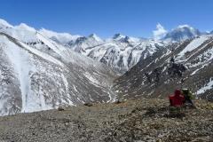 Gipfelpanorama auf 6020m (Foto: Klemens Bichler)