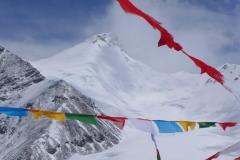 Mystische Stimmung mit Lhakpa Ri im Hintergrund (Foto: Wolfgang Klocker)