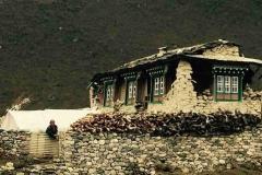 Das Haus von Tenzing vor dem Erdbeben