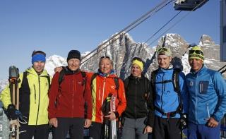 Skitour Licht ins Dunkel