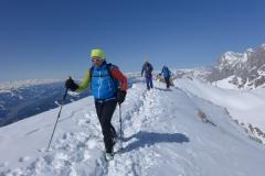 Andy am Grat zur Scheichenspitze (Andreas Unterkreuter)