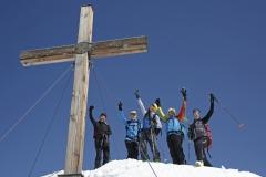 Unser heutiger Gipfel - die Scheichenspitze (Herbert Raffalt)
