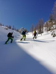 Skitourenfreude in meinen Osttiroler Bergen