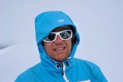 Andy im Whiteout (Foto: Erwin Reinthaler)