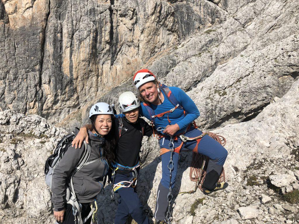 Tammy Koba und Andy nach dem Ausstieg (Tamiko Kimoto)